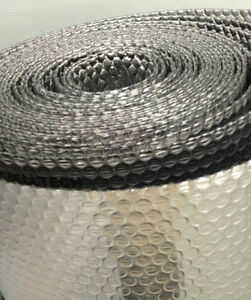 3 16 Double Bubble Double Metalized Mylar Insulated Reflective Wrap 24 x125