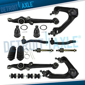 1994 1995 1996 1997 Honda Accord Cl 14pc Control Arms Ball Joints Tie Rods Kit