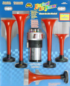 Wolo Six Trumpet Godfather Musical Air Horn Kit Wol440