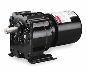 Dayton Model 3m326 Gear Motor Tefc 4 1 Rpm 1 40 Hp 115 Volts 60hz
