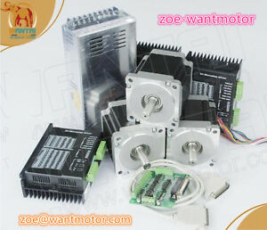 Us Free Wantai 3axis Stepper Motor Nema23 57bygh627 270oz in 3a
