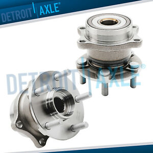 2 Rear Wheel Bearing Hub Set For 2010 2011 2013 Subaru Forester Legacy Outback