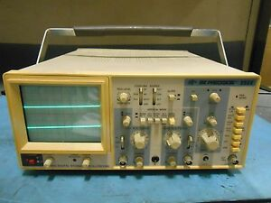 Bk Precision 2522 20mhz Digital Storage Oscilliscope