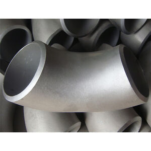 4 Stainless Steel 90 Elbow Short Radius Sch 40