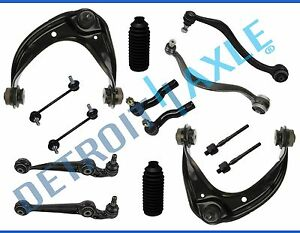 06 07 Ford Fusion Mkz Milan 14pc Front Upper Lower Control Arms Suspension Kit