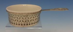 Gorham Sterling Silver Ramekin Cup With Lenox Liner Heart Shaped Design 0436