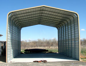 Pre fab Carport garage sheds rv Ports steel Buildings barns