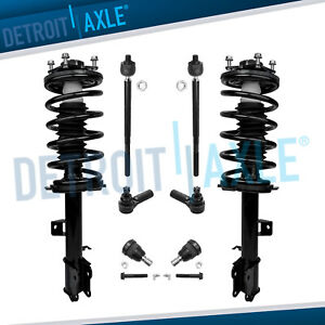 2001 2007 Ford Escape Mazda Tribute Front Struts Lower Ball Joint Tie Rod Kit
