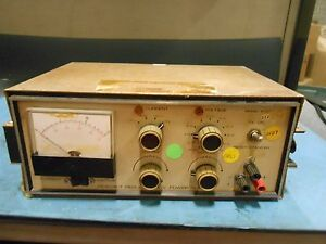Heathkit Regulated L v Power Supply Ip 27