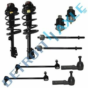 Caravan Voyager Town Country 10pc Complete Front Strut Set Suspension Kit