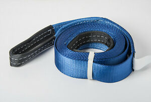 3 6 5ton 14000lb Blue Tow Strap 20ft 3x20 Winch Sling Off Road Atv Utv Recovery