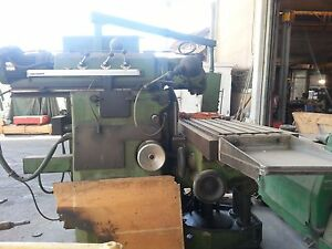 Huron Horizontal Boring Machine Tabletype Tnc 131