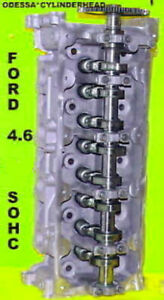 Ford Lincoln Navigator 4 6 Sohc Cylinder Head Cast Rf 1l2e Only Right Side