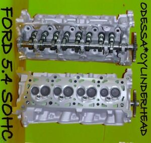 2 Ford Lincoln Navigator 46 54 Sohc Cylinder Heads Cast Rf 2l1e Only No Core Fits 2002 Ford F 150 King Ranch