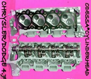 Chrysler Dodge Jeep Cherokee Dakota 4 7 Sohc Cylinder Heads No Core Required