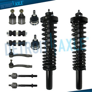 New 12pc Front Struts Suspension Kit For 1996 2000 Honda Civic Excludes Si
