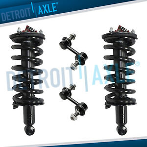 4 Front Struts Sway Bar Links Kit For 2004 2009 2010 Titan Armada Qx56 5 6l