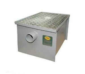 New 40 Lb Commercial Grease Trap Interceptor Pdi Certified local Pick up
