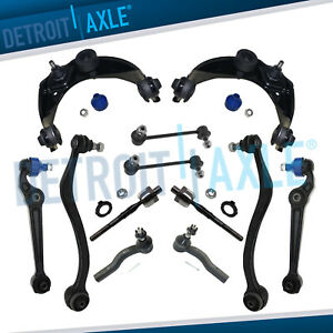 Front Upper Lower Control Arms Mazda 6 Control Arms Ball Joint Tie Rods 12pc Kit