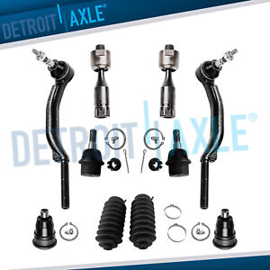 10pc Front Suspension Kit For Chevy Trailblazer Gmc Envoy Saab 9 7x 16mm Threads