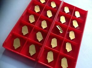 20 X Gtn 3 Grooving Inserts For Steel Stainless Steel New With Invoice