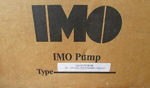 Imo Pump Cd 645 Aa3g Nvsmca 095sc Hess 112418 3 G Series Hydraulic Pump