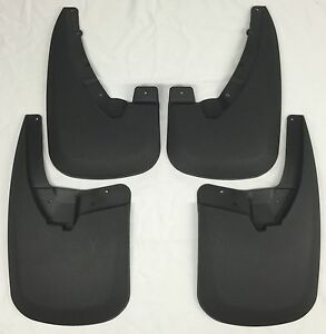 Mud Flaps 2006 2010 Ford Explorer W out Power Running Boards Husky Splash Guards