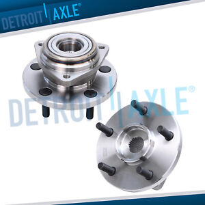 2 Front Wheel Bearing Hub For Jeep 1999 2003 2004 Grand Cherokee 4 0l 4 7l