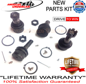 Lifetime Upper Lower 4 Ball Joint Kit For Ford F250 F350 4x4 Super Duty 99 16