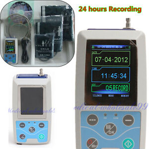 Usa Ambulatory Blood Pressure Holter Bp Pulse Rate Monitor software Analysis A