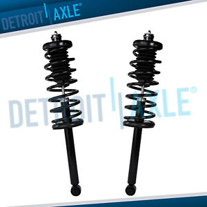 2 Rear Strut Coil Spring For 1998 1999 2000 2001 2002 Honda Accord 2 3l 3 0l