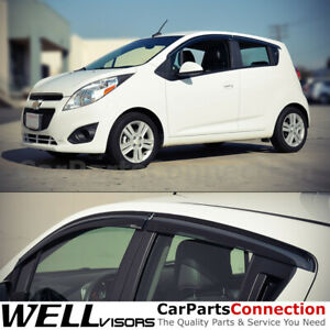 Wellvisors Window Visors 13 15 Chevy Spark Sun Visors Deflectors