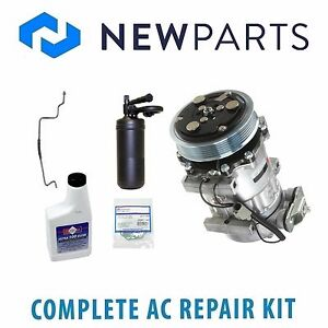 For Jeep 1997 1998 Wrangler Tj Ac A c Repair Kit W Compressor Clutch New