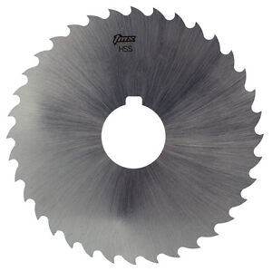 3 64 Thick X 4 Diameter X 1 Arbor Hole 36 Teeth Hss Plain Slitting Saw