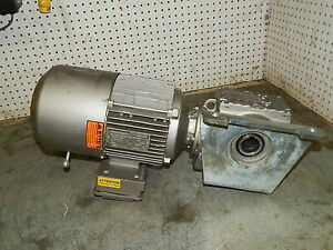 Sew Eurodrive Dft90s4bng2hru Gear Motor 1 1 2 1 5 hp 1740rpm With Gear Reducer