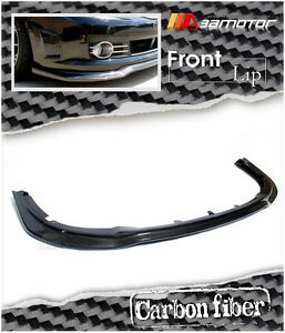 Carbon Front Lip Spoiler Fit For 2008 11 Subaru Impreza Grb Wagon Wrx Sti Bumper