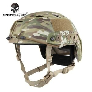 Base Jump Type EMERSON Helmet Military Tactical Airsoft Wargame Multicam 5659D