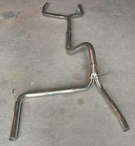 93 97 Camaro Trans Am Catback Stainless Exhaust Y Pipe Lt1 350 Cat Back Race Nos