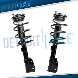 2 Front Quick Struts For Chevy Traverse Gmc Acadia Buick Enclave Saturn Outlook