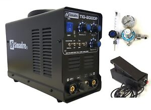 Tig Mma Pulse Simadre Tig200p 110 220v 200a Dc Welding Machine Ft Pedal Argon Re