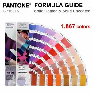 Pantone Plus Series Gp1601n Color Formula Guide Solid Coated Uncoated New