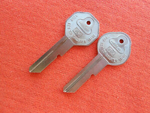 Briggs And Stratton Chevy Buick Pontiac Olds Gm Nos Key Blanks 1935 1966