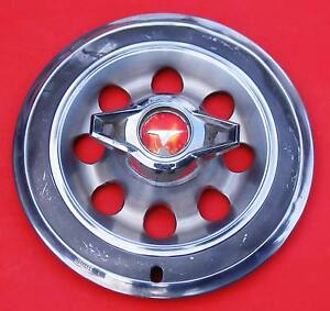1965 Buick Special Wheel Cover With A Two Bladed Spinner Not Bad
