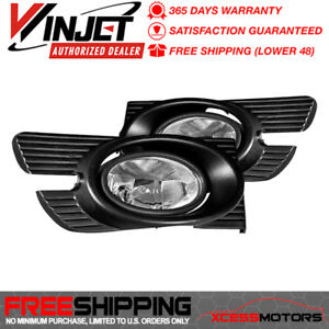 Fits Winjet 98 02 Honda Accord 4dr Fog Lights Lamps Wiring Kit clear