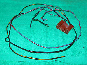 1970 Cougar Xr7 Hardtop Convertible Eliminator Head Light on Relay Wiring Plug