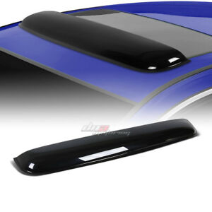 35 Smoke Tint Sunroof Moon Sun Roof Window Visor Shade Vent Wind Rain Deflector