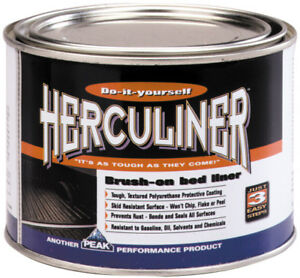 Herculiner Black Brush On Truck Bed Liner Qt Pekhcl1b7