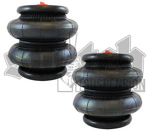 Air Spring 2600 Lb Air Suspension 1 2 Npt 250 Psi Universal Air Bag Pair