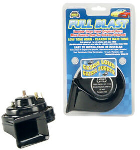 Wolo Full Blast Extra Loud Replacement Low Tone Horn Wol380 2t