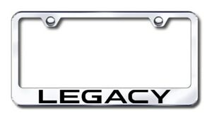 Subaru Legacy Laser Etched Stainless Steel License Plate Frame Xxxlf lgy ec